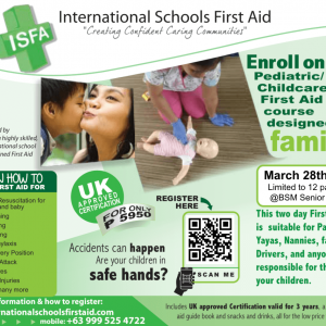 Family First Aid March 28 & 29